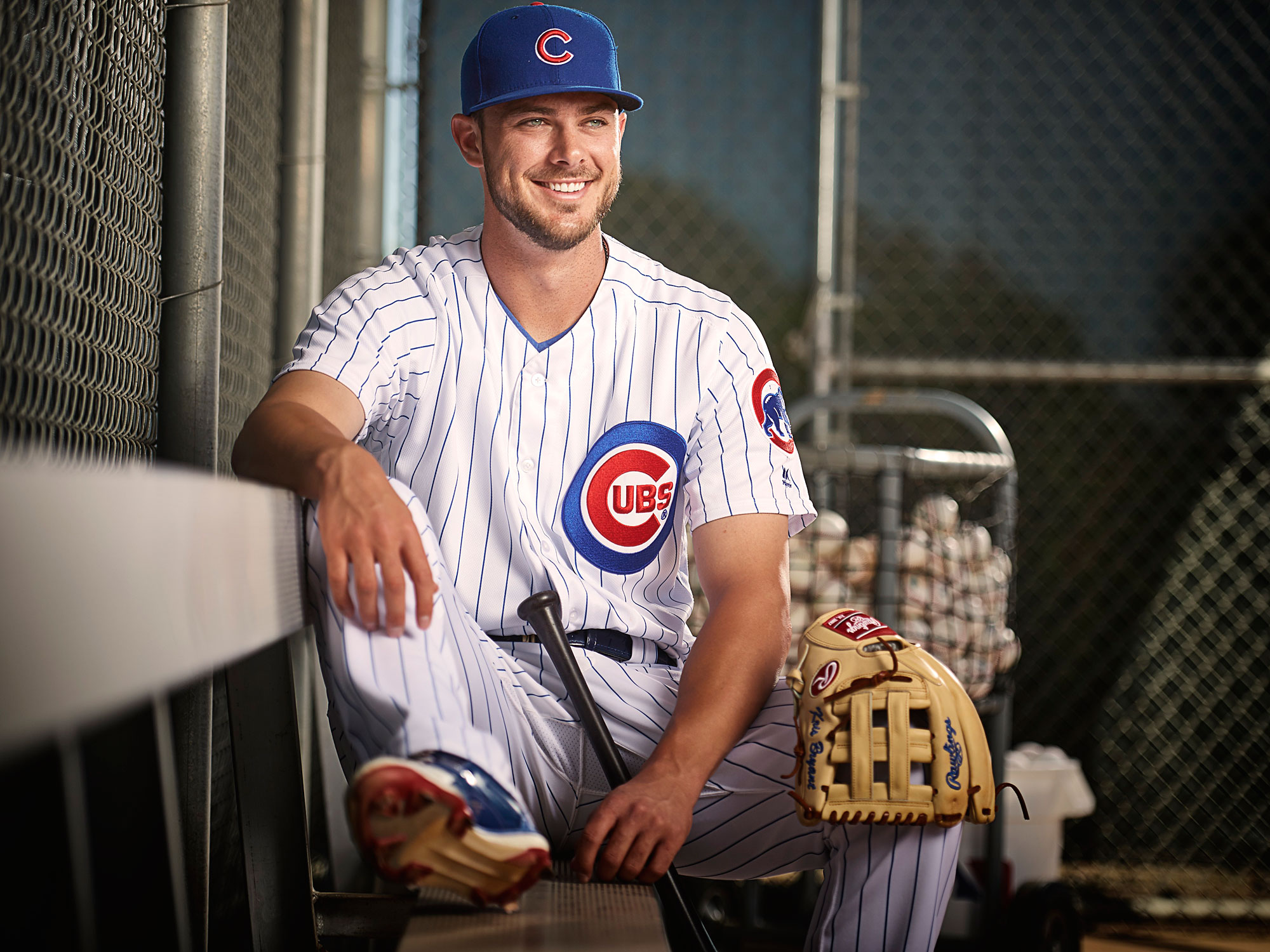 d10ce47b9 Kris Bryant  The charmed life of the Cubs  MVP-winning hero