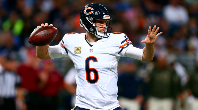 Jay Cutler is a free-agent quarterback facing a soft market.