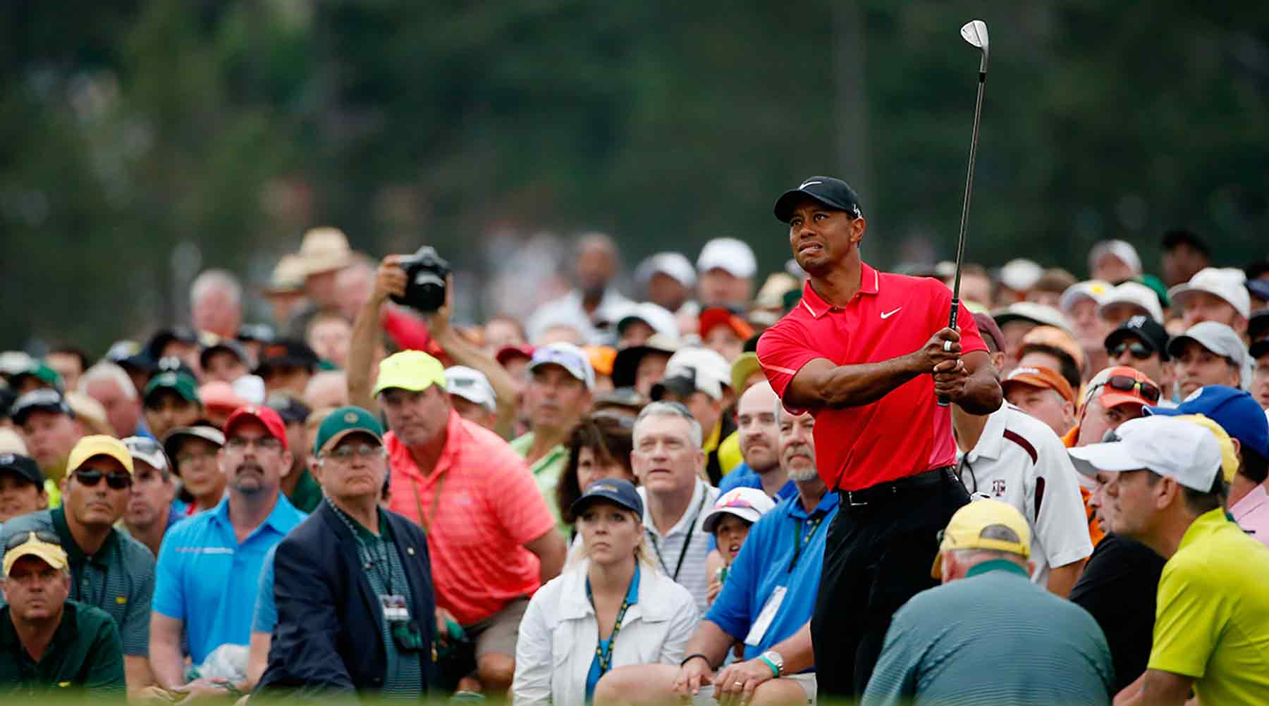 Tiger Woods last played the Masters in 2015.