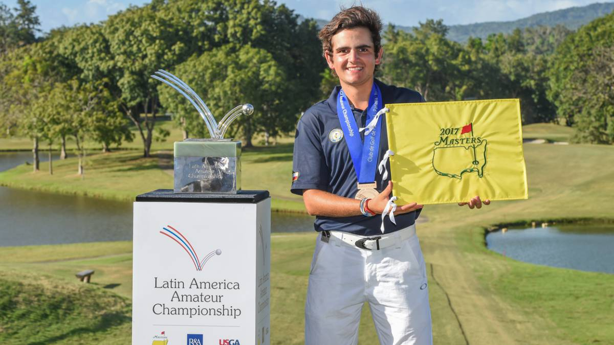 Toto Gana won the Latin America Amateur Championship.