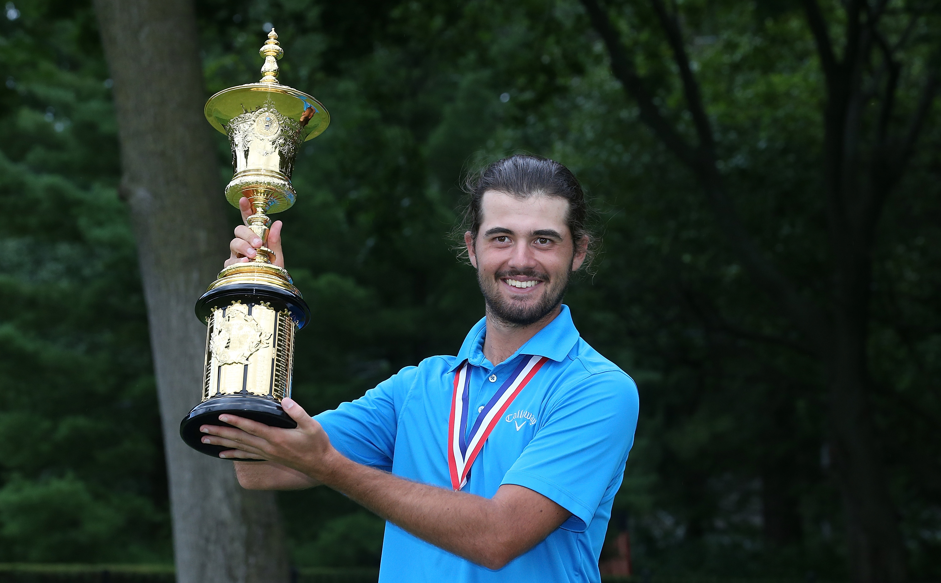 Curtis Luck won the U.S. Amateur.