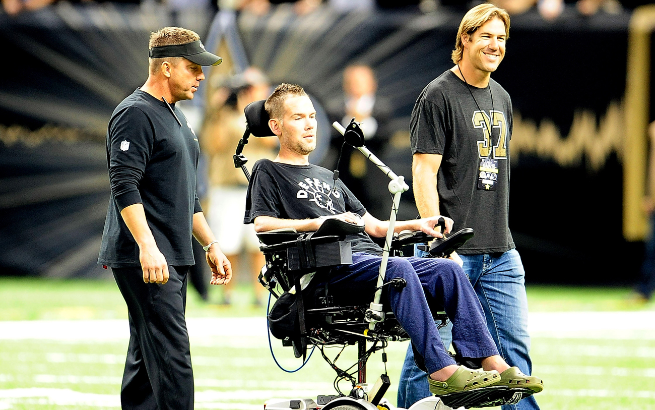 Former Saint Steve Gleason has been the face of ALS since his diagnosis in 2011 and there are several more ex-NFL players suffering from the incurable disease.