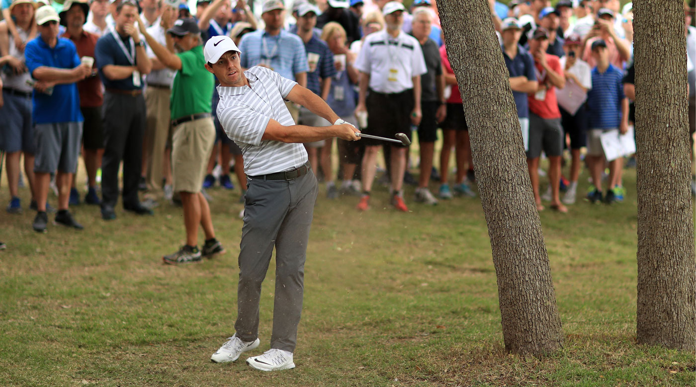 Rory McIlroy lost his first round match to Soren Kjeldsen.