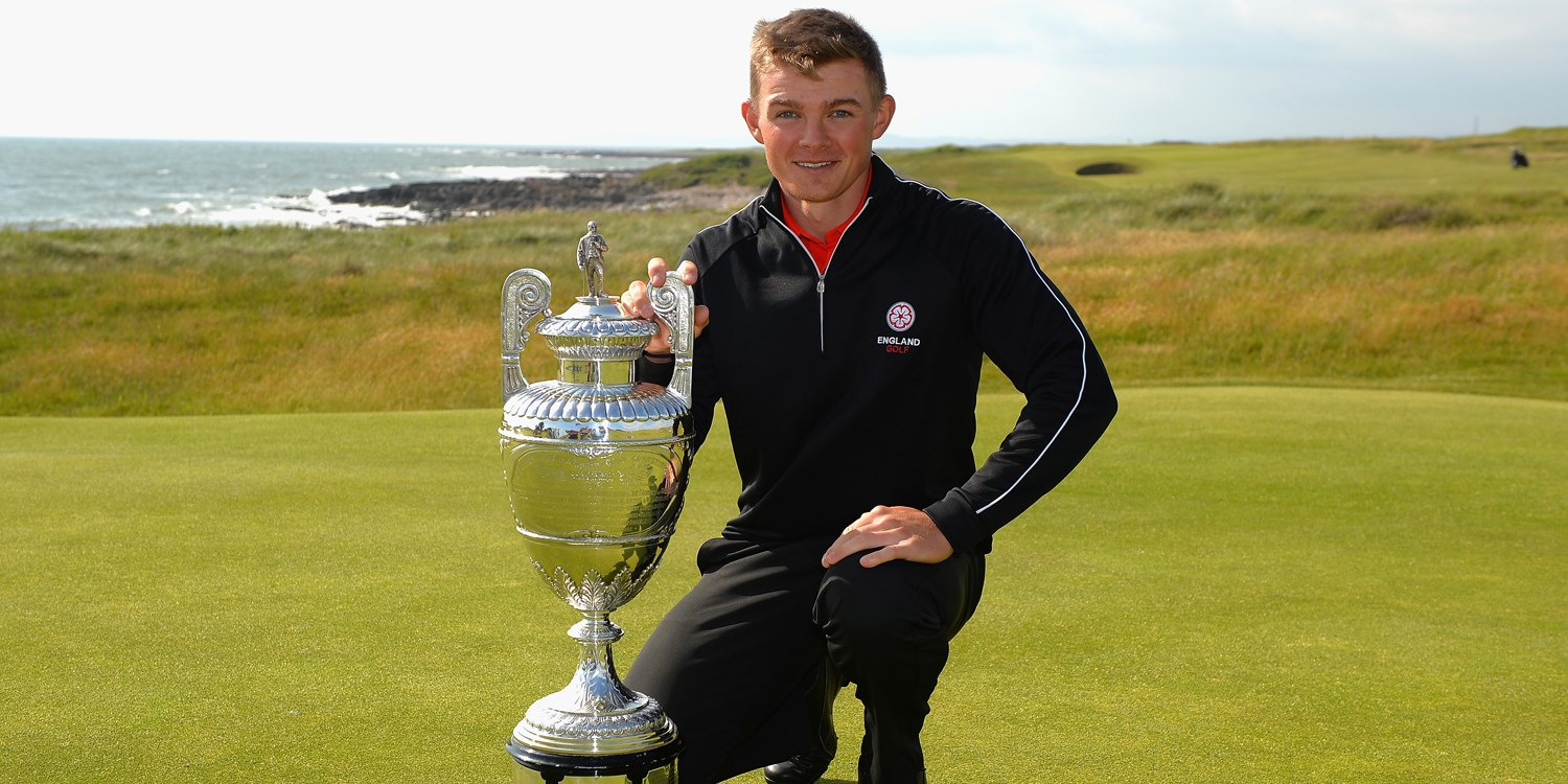 Scott Gregory won the British Amateur.