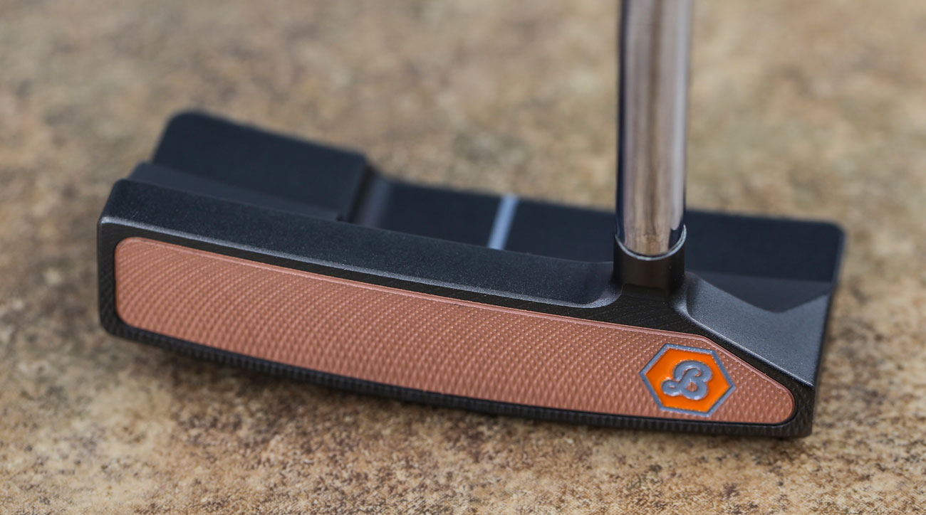 A view of the face of the new Bettinardi QB6 putter.