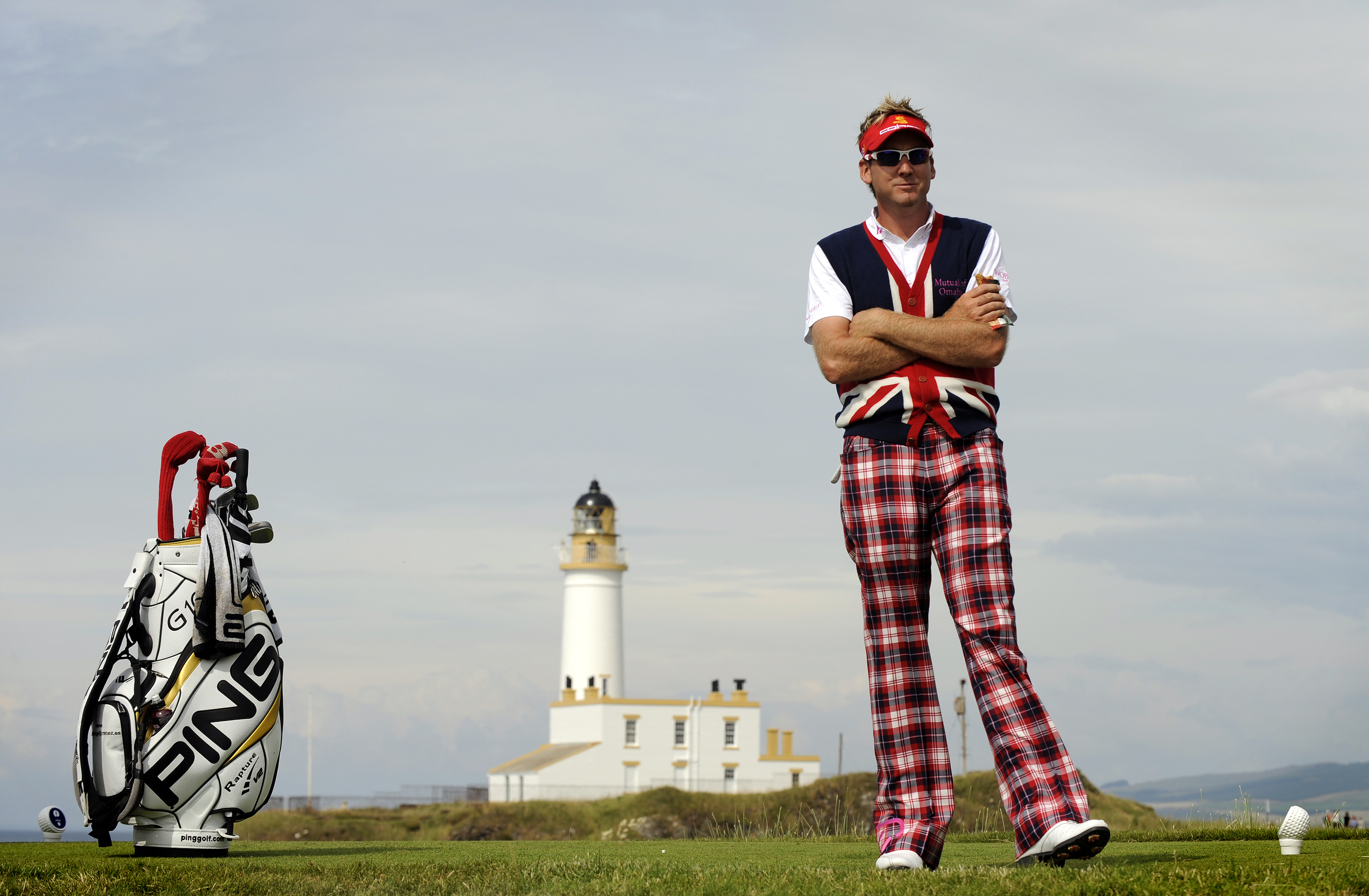 The winner of the Ian Poulter Match-Play Championships gets a pair of snug trousers.
