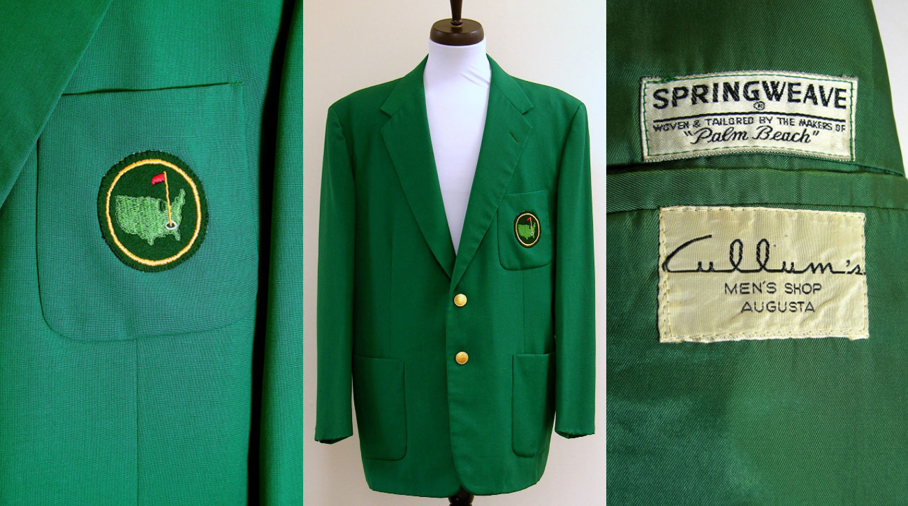 The green jacket as seen on Green Jacket Auctions website.