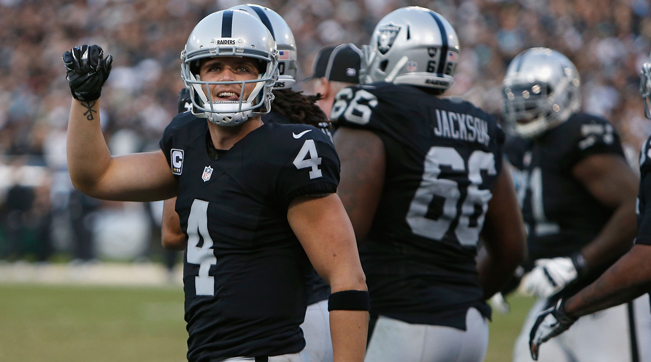 Derek Carr and the Raiders will play the 2017 season in Oakland. After that, it's unclear.