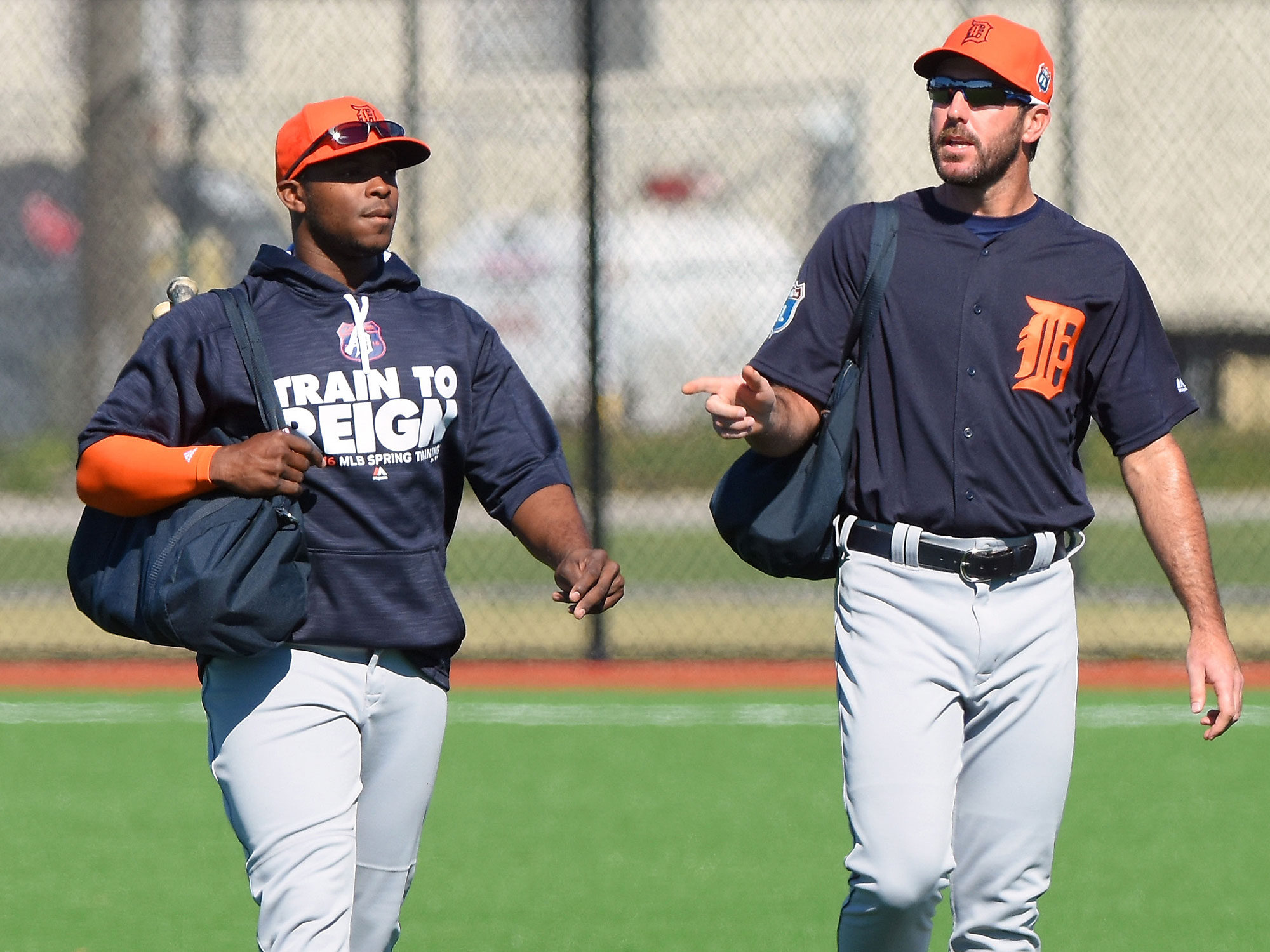 Justin Upton and Justin Verlander, Detroit Tigers