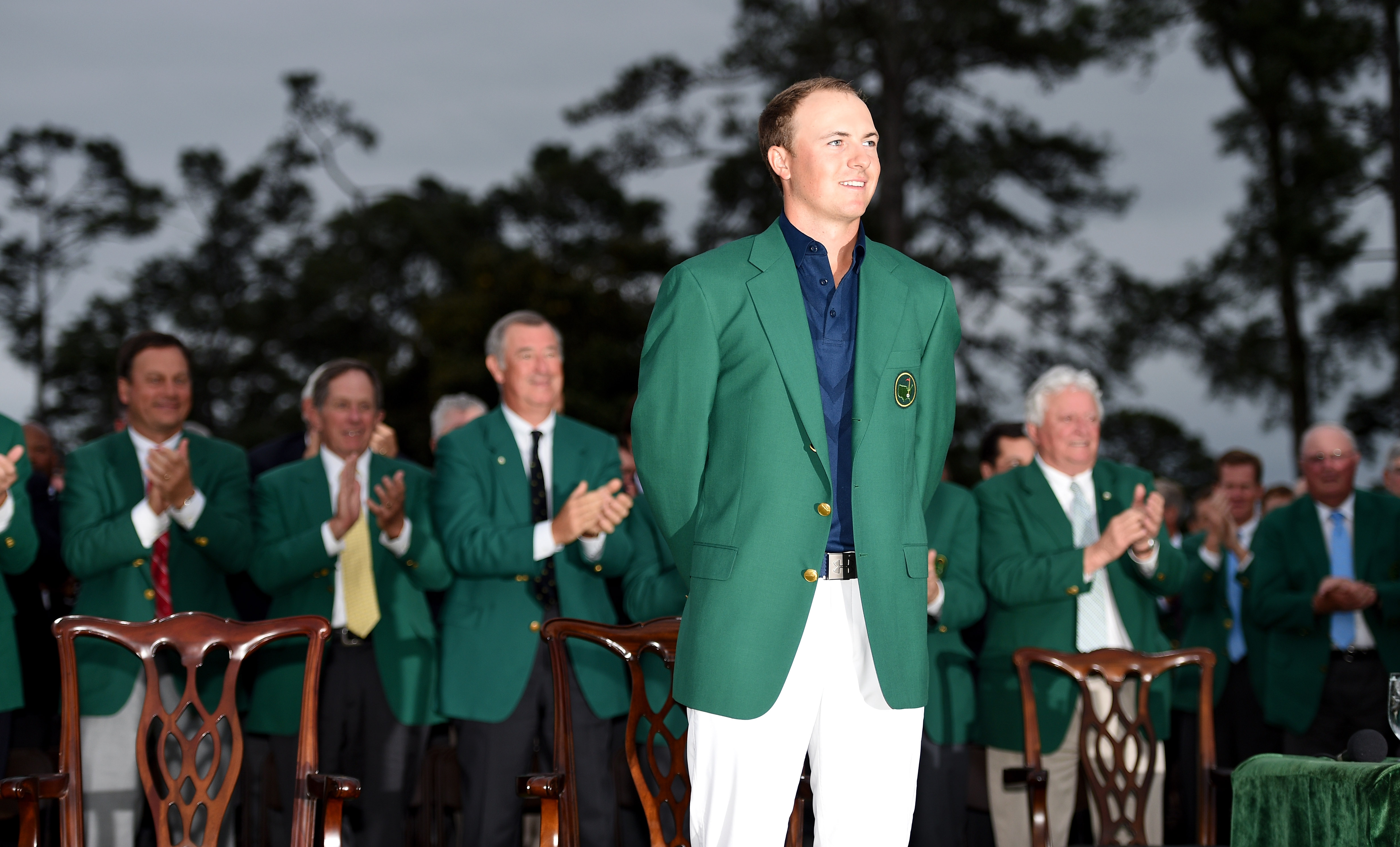Jordan Spieth has one win and two career second place finishes at Augusta National.