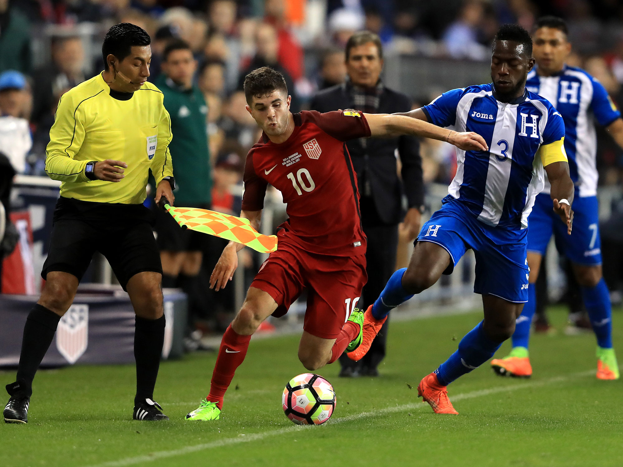 Pulisic Was Dynamic For The Usmnt Vs Honduras