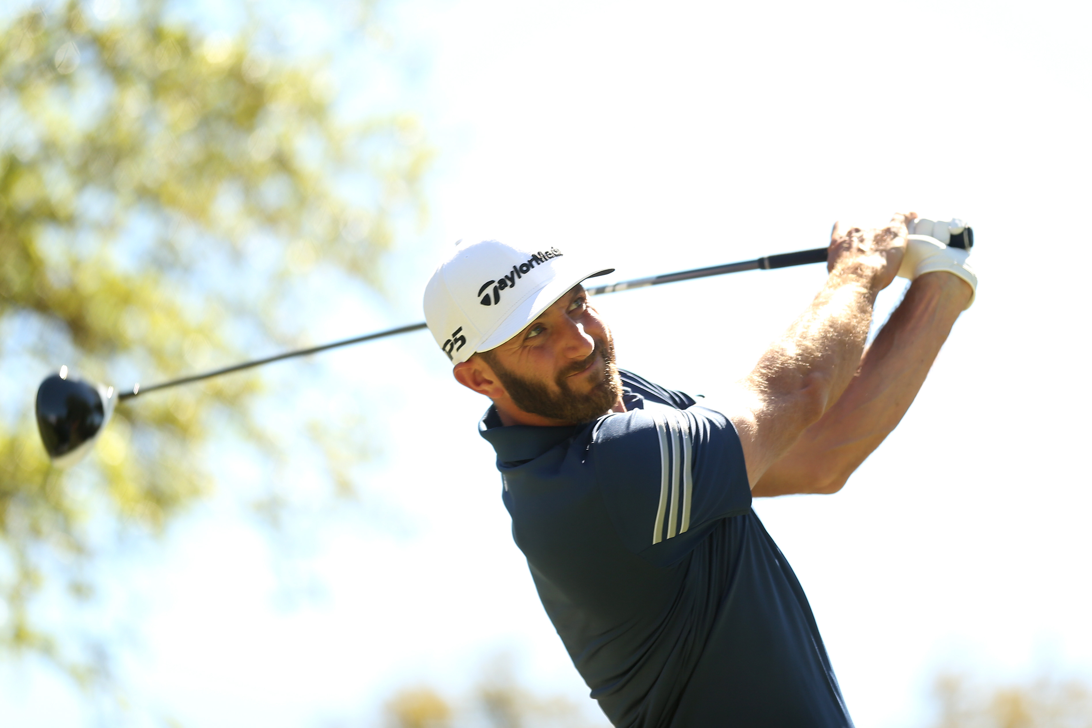 Dustin Johnson is looking to claim his fifth career World Golf Championship Sunday in Austin, Texas.