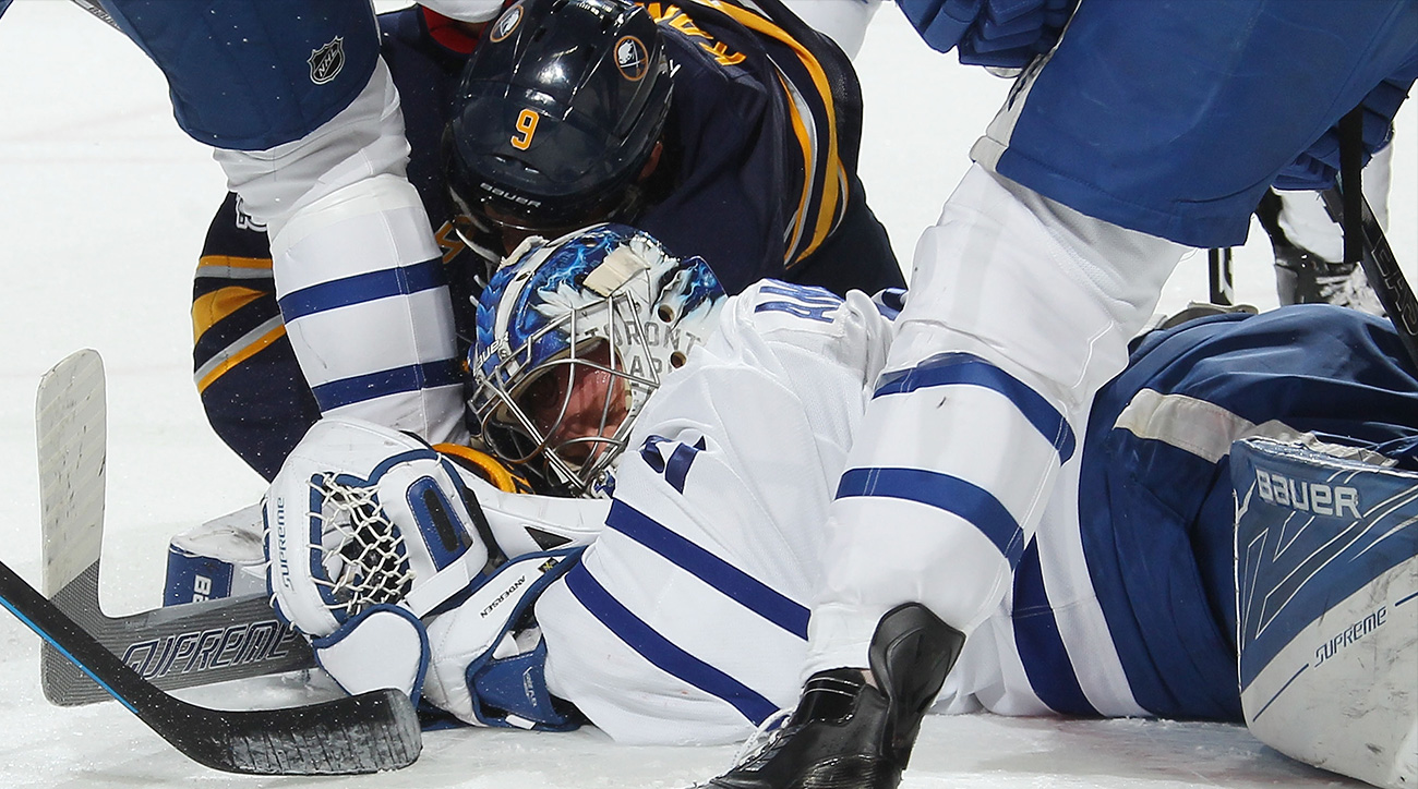 Despite Andersen injury, Maple Leafs must stick to identity amid playoff hunt