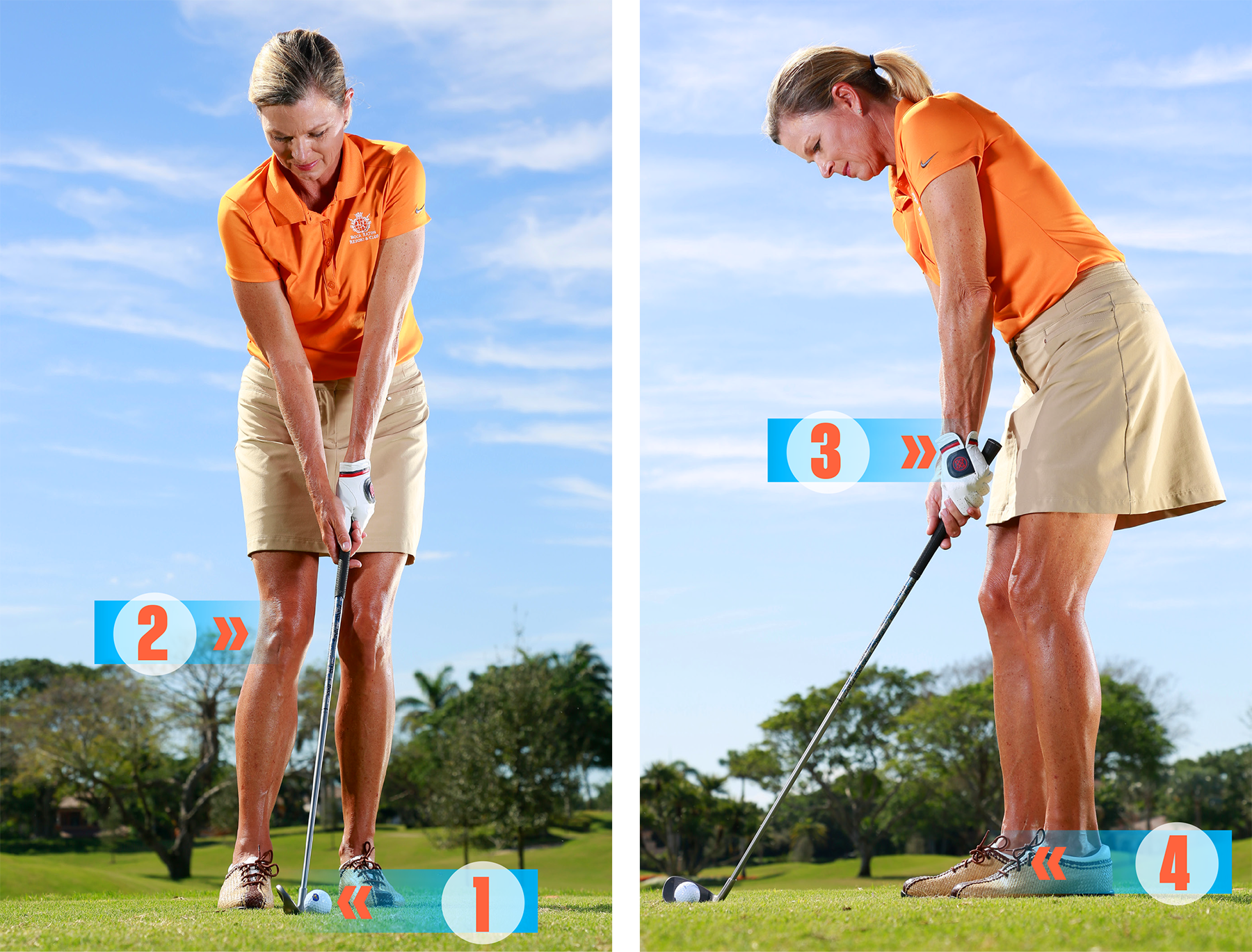 It takes but four tweaks to your normal setup to build the ultimate short-game stance.