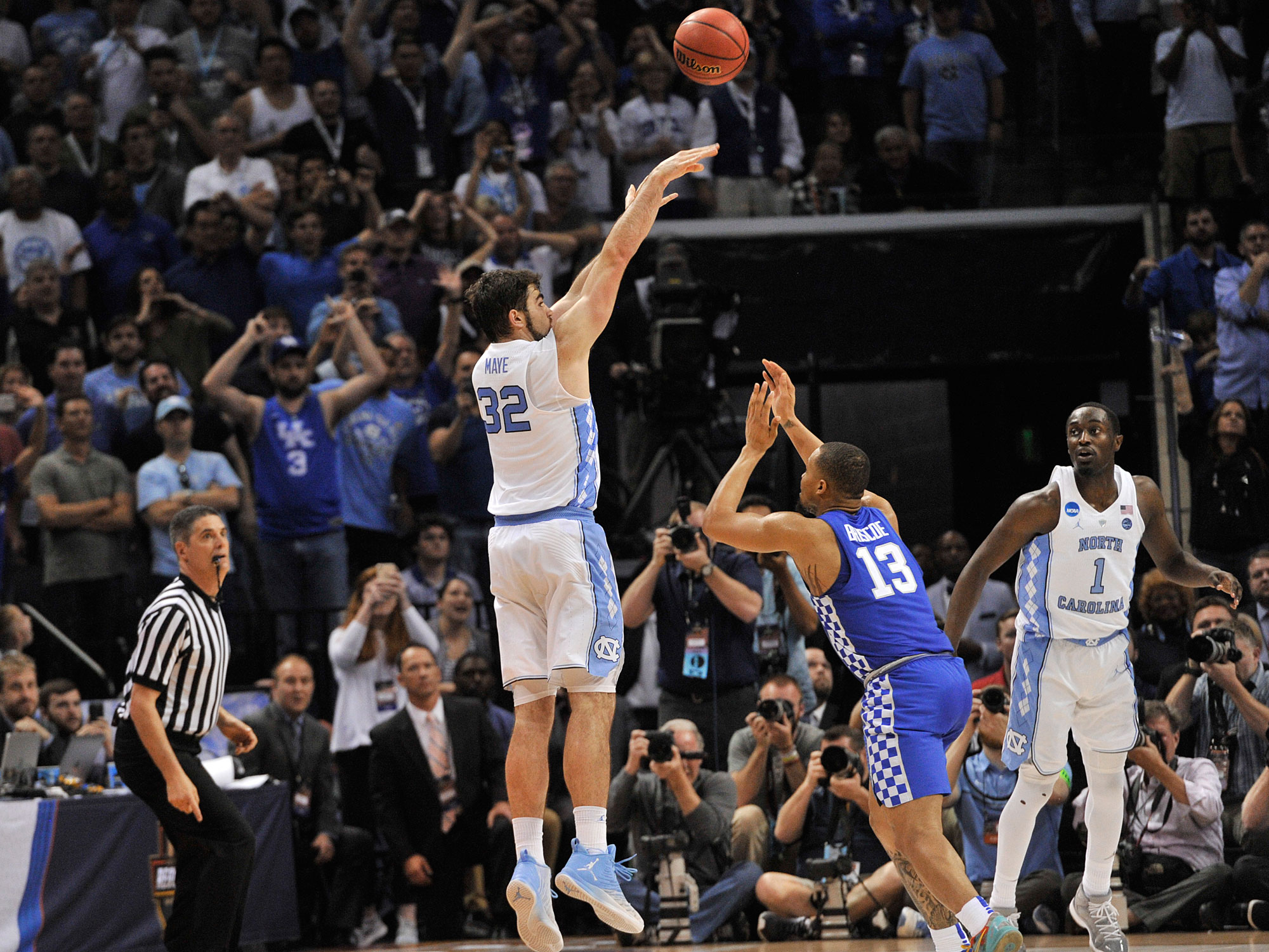 Luke Maye, North Carolina Tar Heels