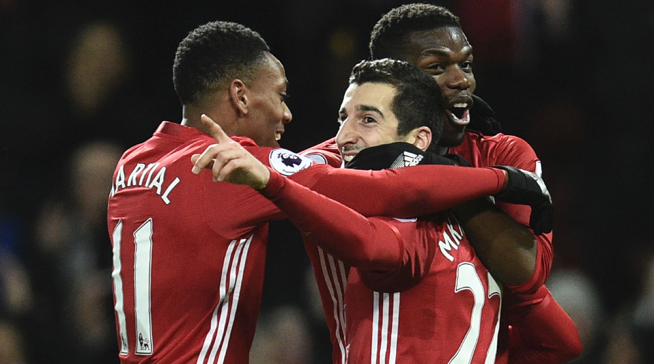 Henrikh Mkhitaryan and Anthony Martial are solid Fantasy Premier League Gameweek 30 picks