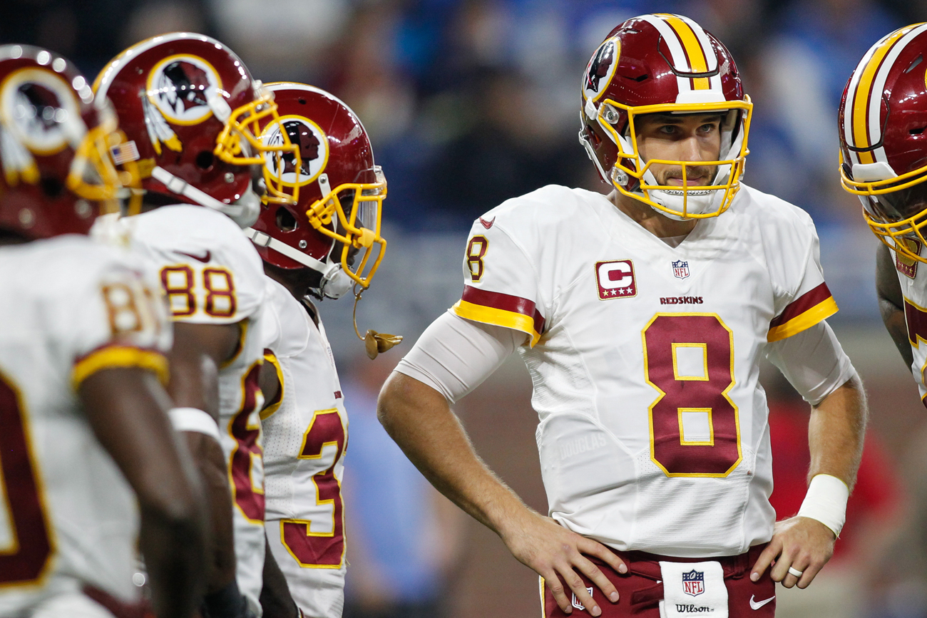 The Redskins and Kirk Cousins haven't been able to work out a long-term contract.
