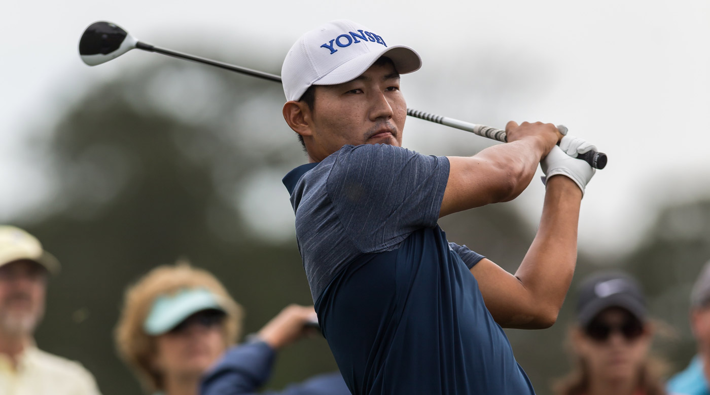 Sung Kang during the third round of the 2017 Shell Houston Open.