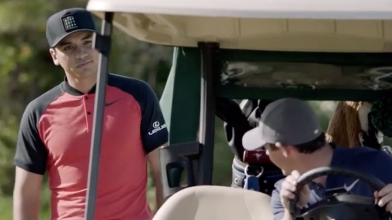 It's Jason v. Rory in the new Nike Golf Club commercial.