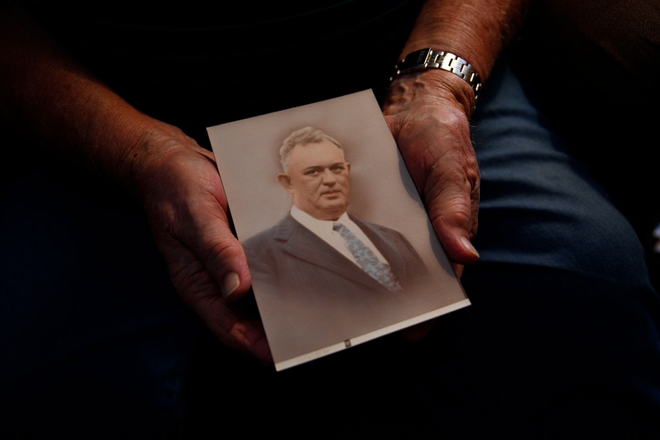 Shurley Hammock's father, Simpson Hammack.