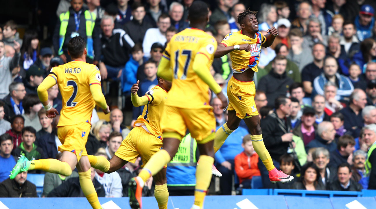 Crystal Palace beat Chelsea in the Premier League