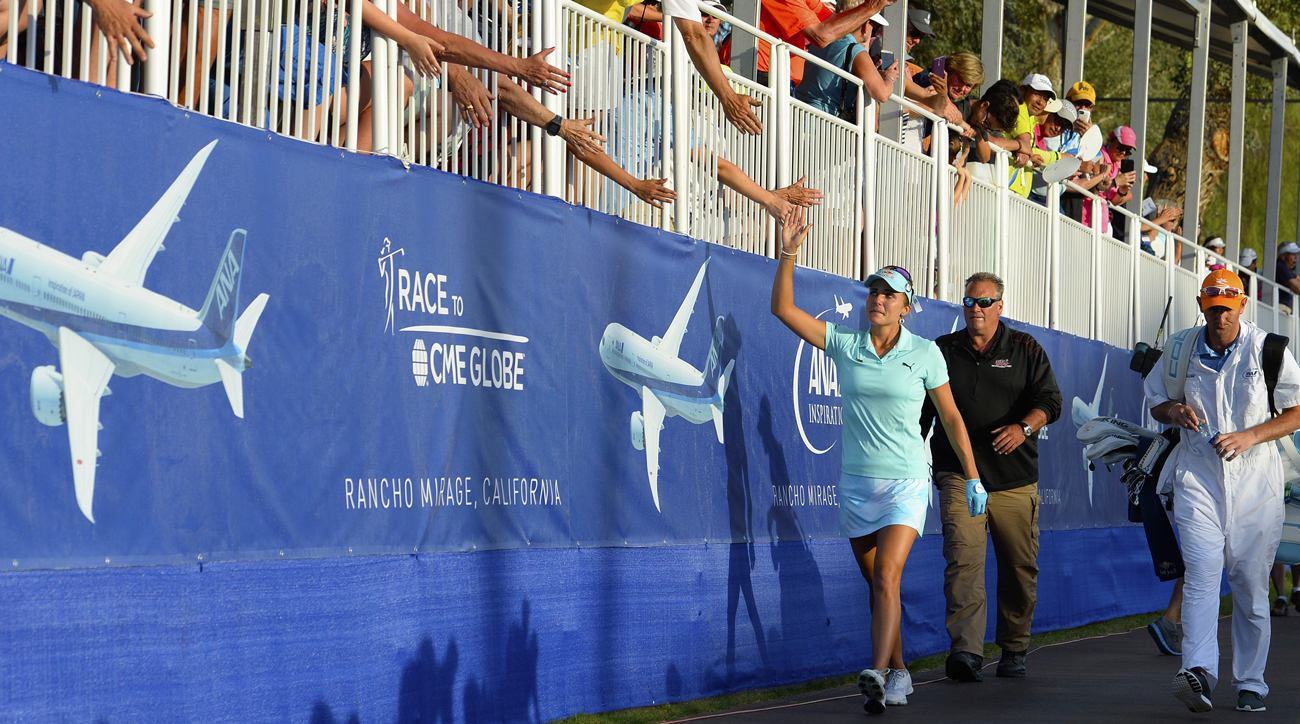 Lexi Thompson made sure to thank her fans for their support both walking up the 18th hole and after the event on Instagram.