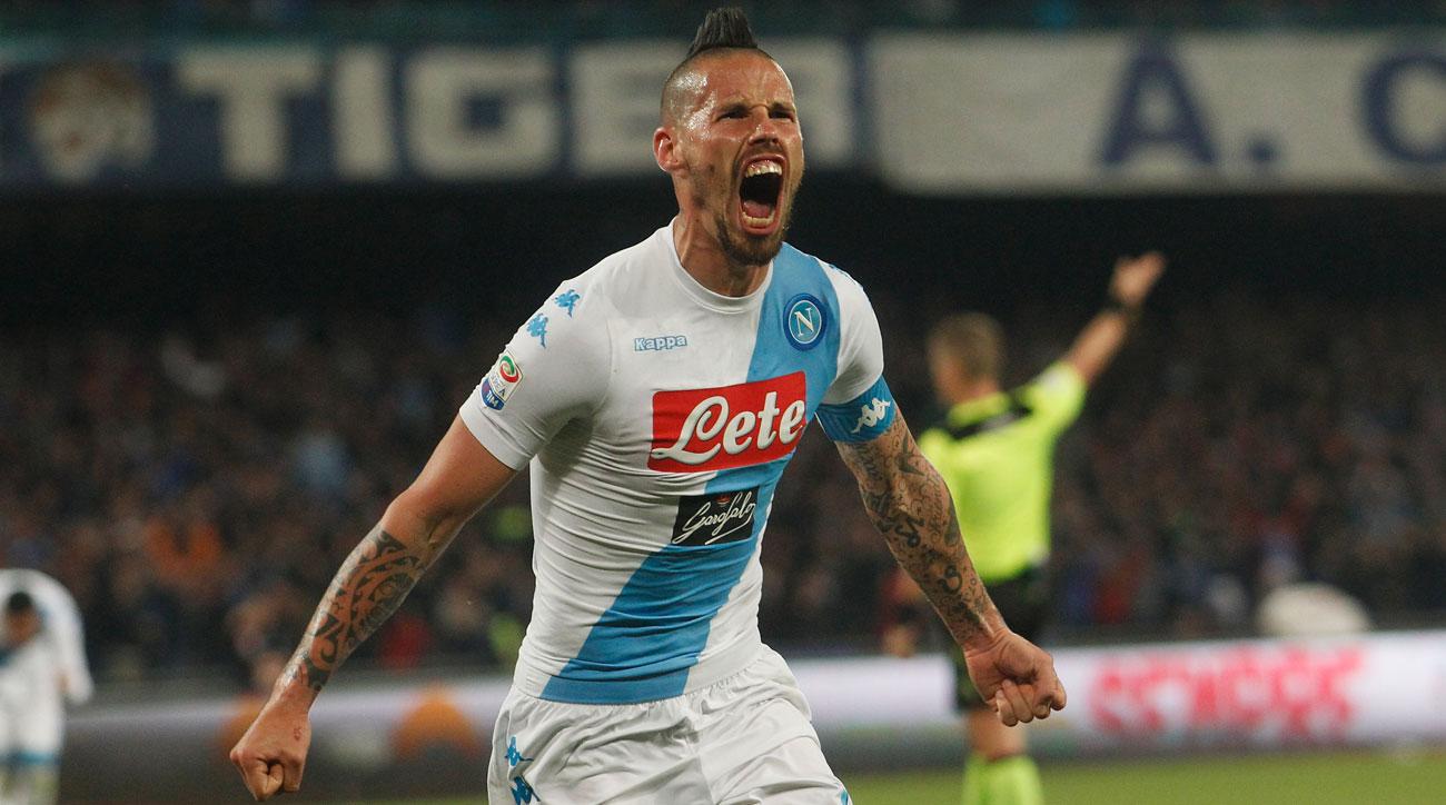 Marek Hamsik scores a great equalizer for Napoli vs. Juventus