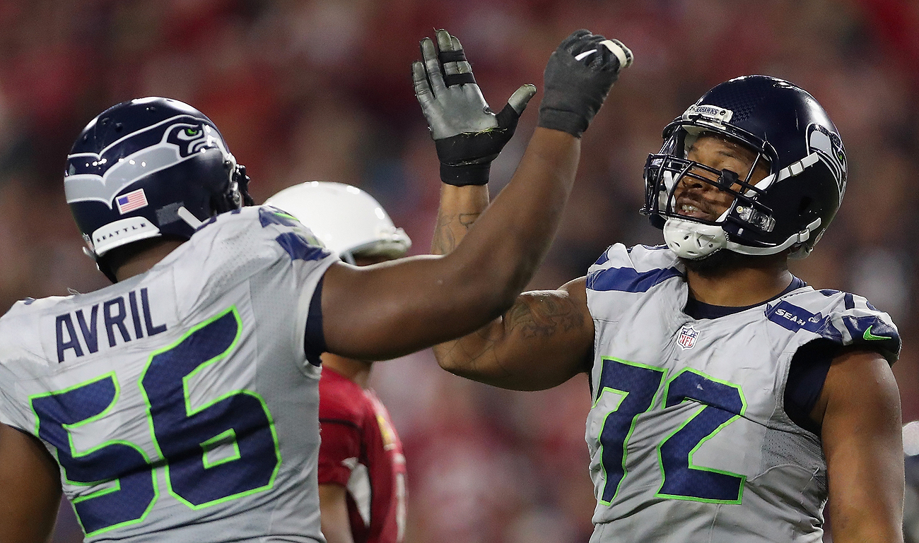 Cliff Avril and Michael Bennett have been key cogs in the Seahawks defense.
