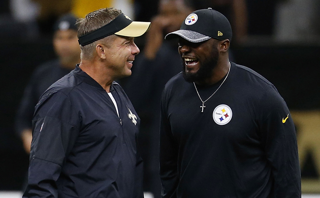 Sean Payton (hired in 2006) and Mike Tomlin (2007) are two of the longest tenured coaches in the NFL, along with Bill Belichick (2000), Marvin Lewis (2003) and Mike McCarthy (2006).