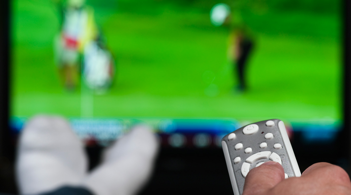 In golf, a TV viewer at home on his couch wields a lot of power.