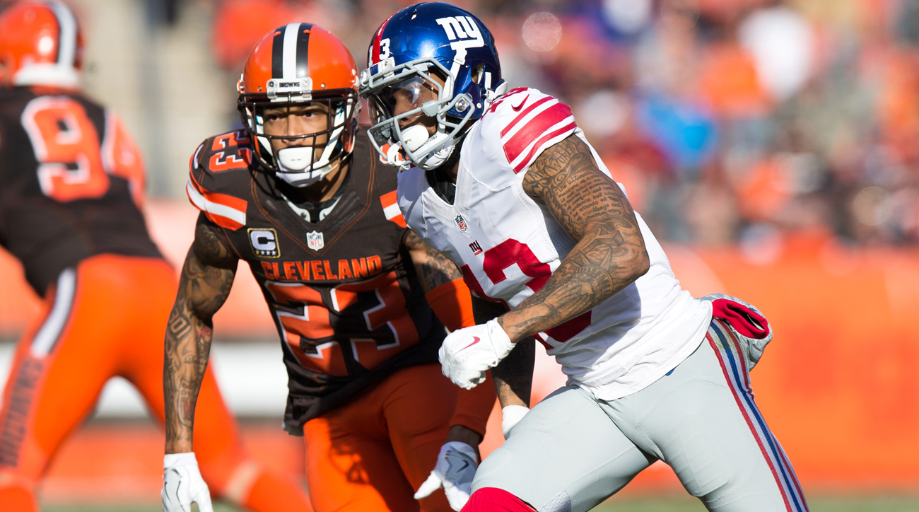 If Joe Haden and Odell Beckham Jr. were teammates in Cleveland, the Browns' fortunes might be different.
