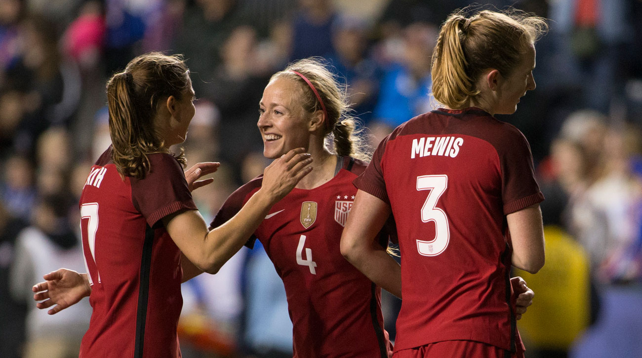 Becky Sauerbrunn is a co-captain for the U.S. women's national team