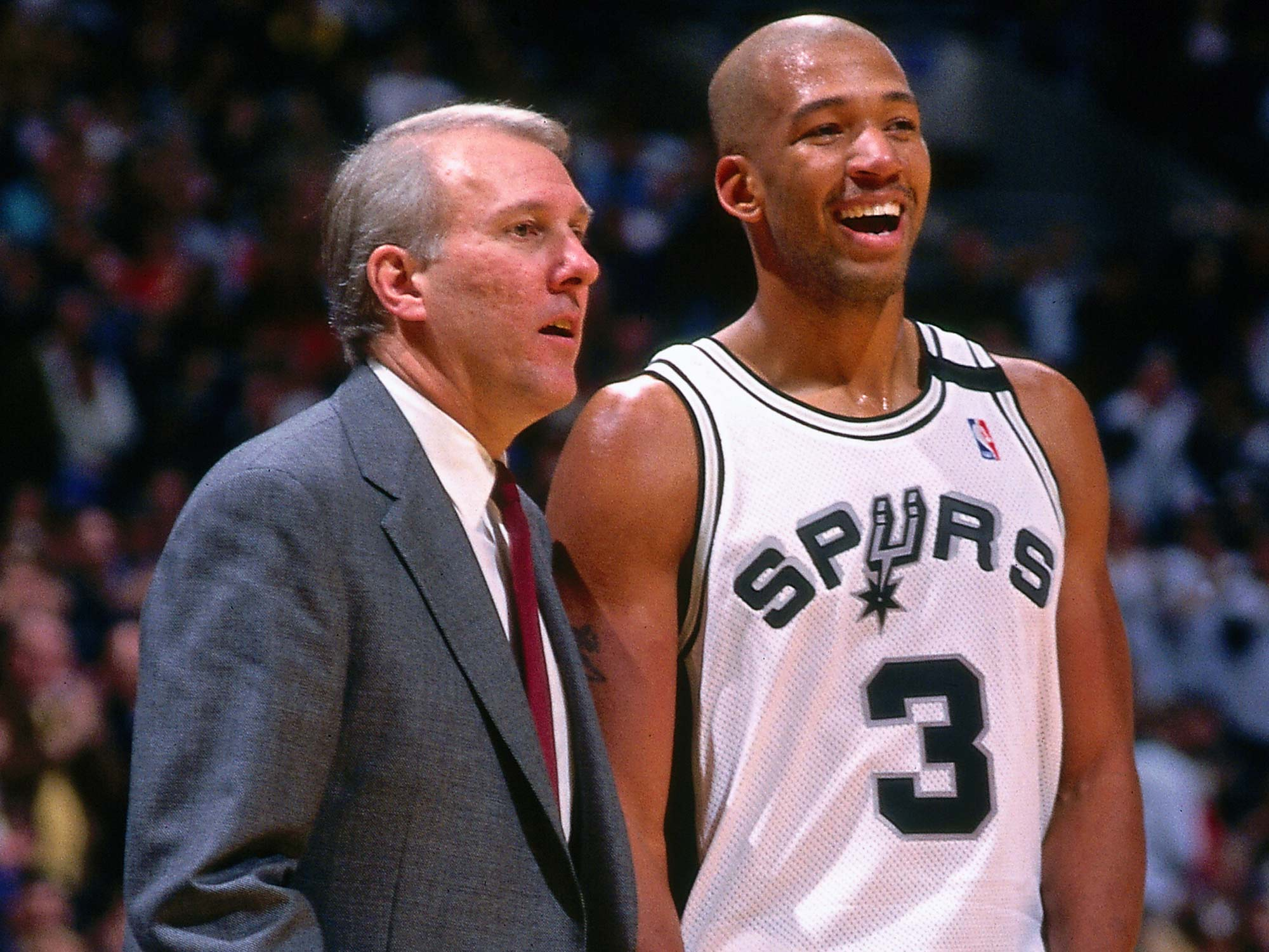 Gregg Popovich and Monty Williams