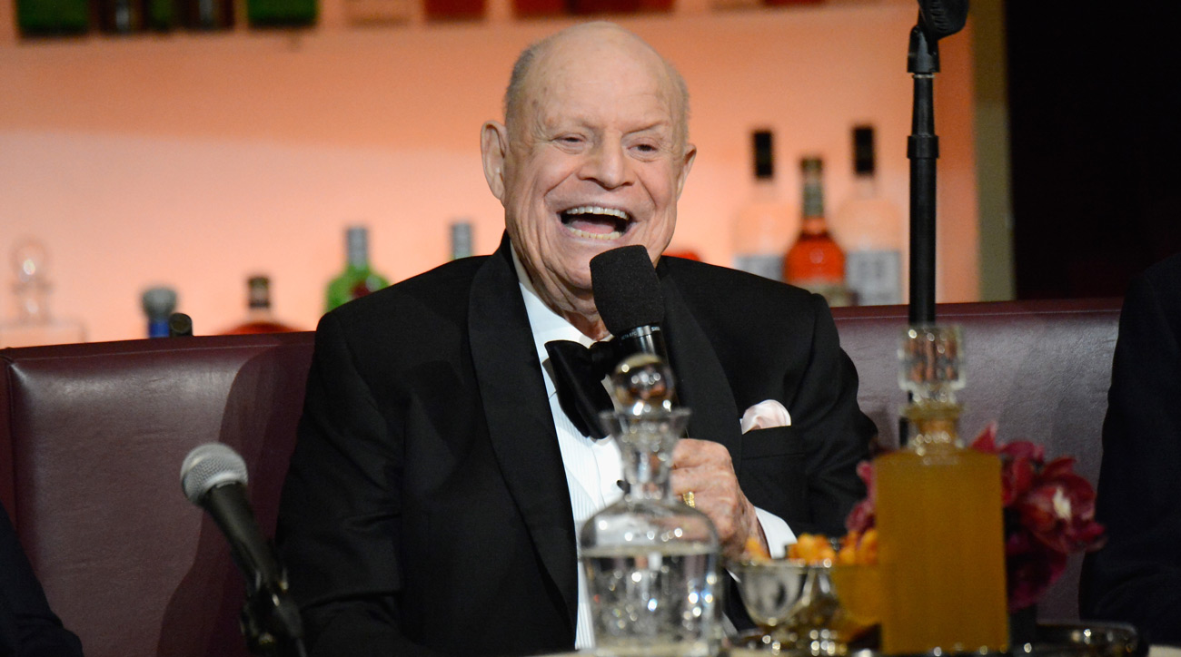 "Don Rickles speaks onstage at Spike TV's ""Don Rickles: One Night Only"" on May 6, 2014 in New York City."