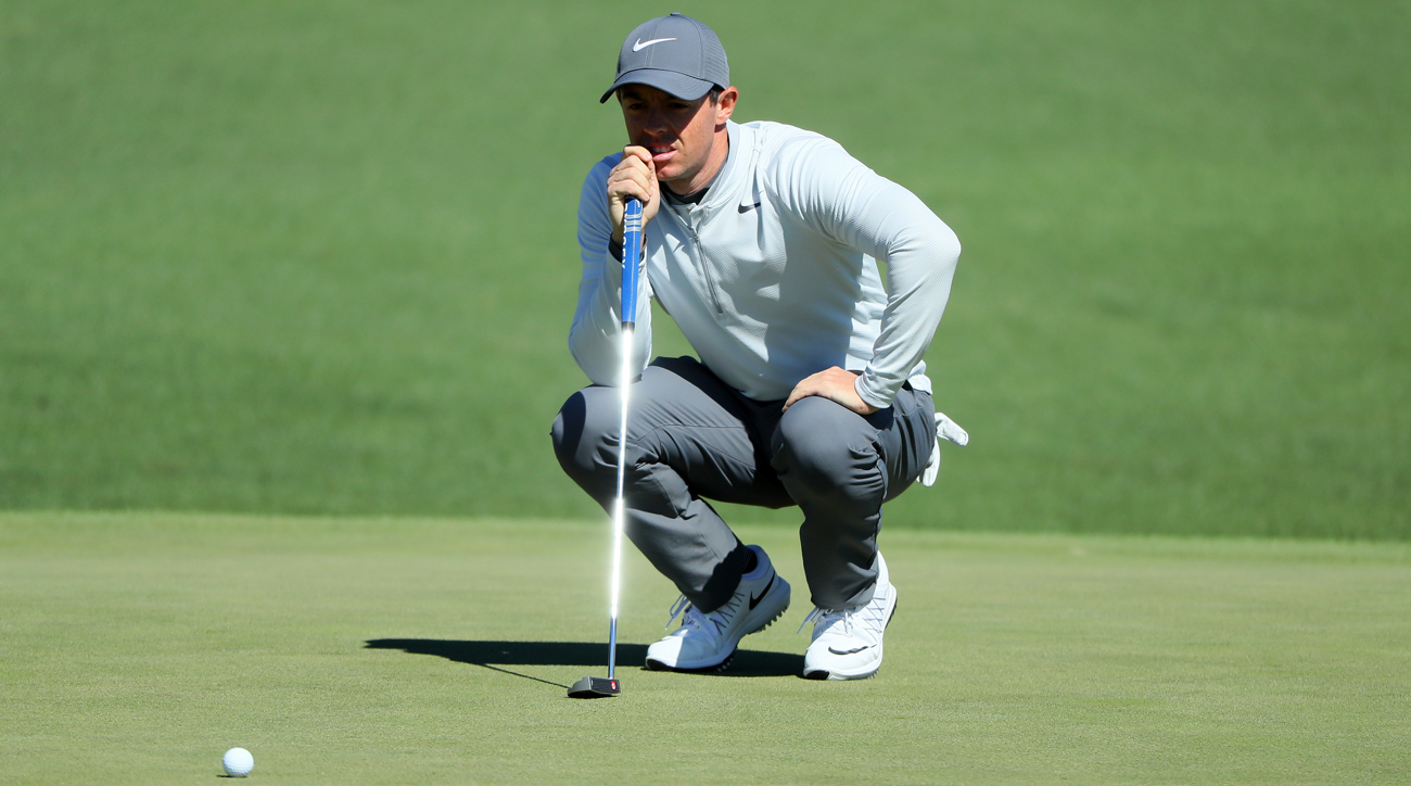 McIlroy made four birdies Friday, but five bogeys led to a second round 73.