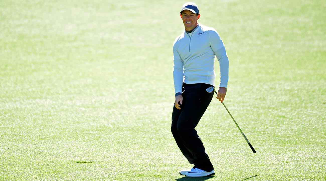 Rory McIlroy shot a second-round 73 at the Masters on Friday.