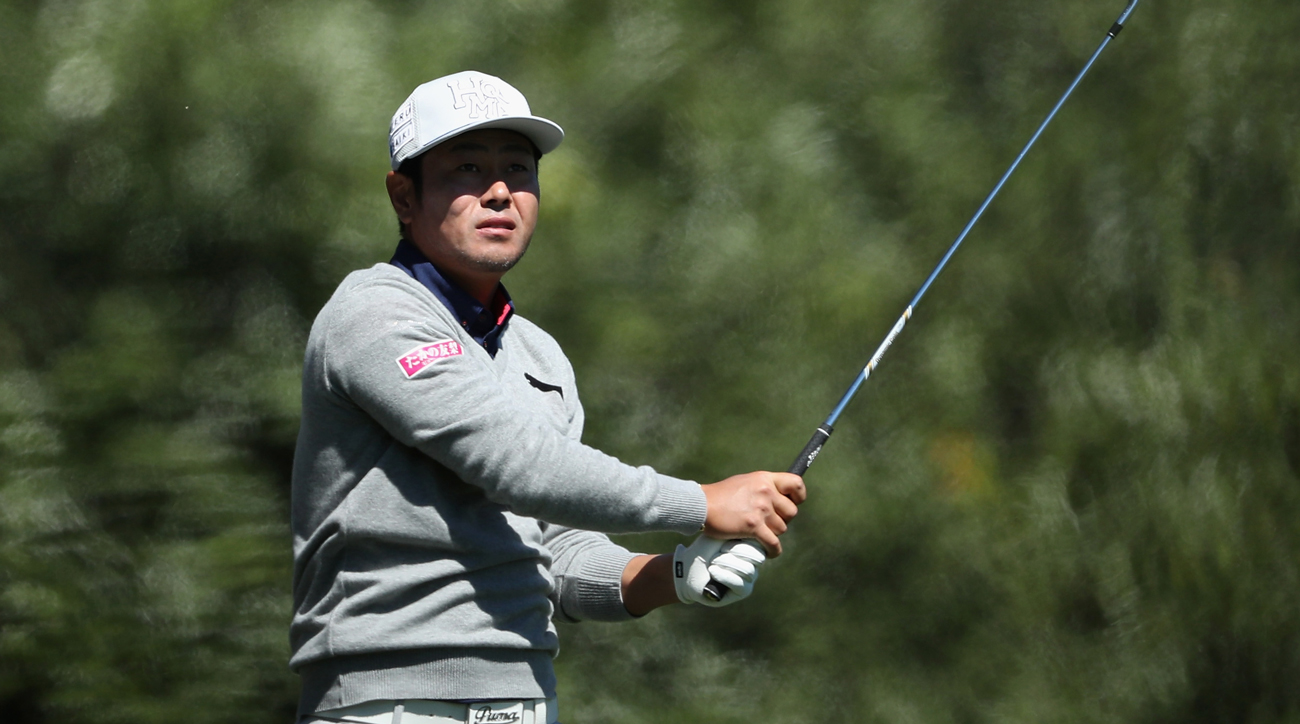 In his second Masters, Hideto Tanihara struggled early and often, culminating in an awful shank Friday afternoon.