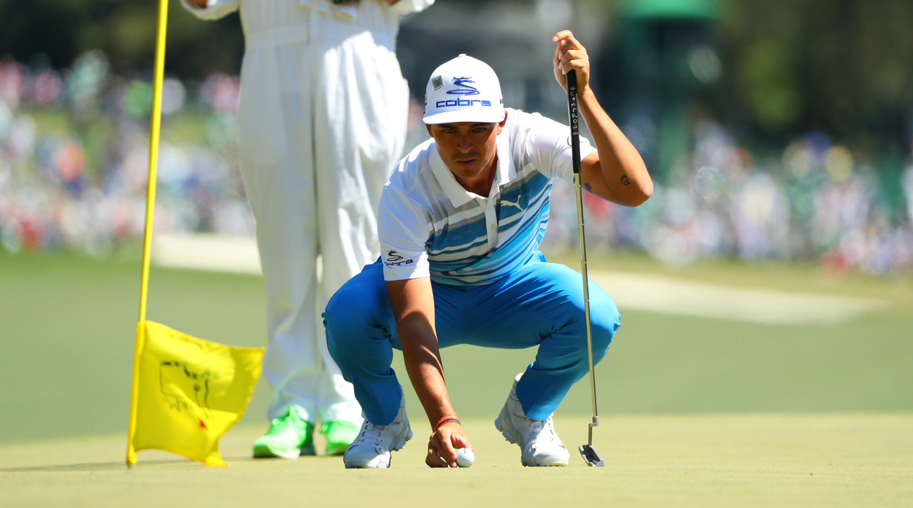 Rickie Fowler leads the field in strokes gained: putting through three rounds.