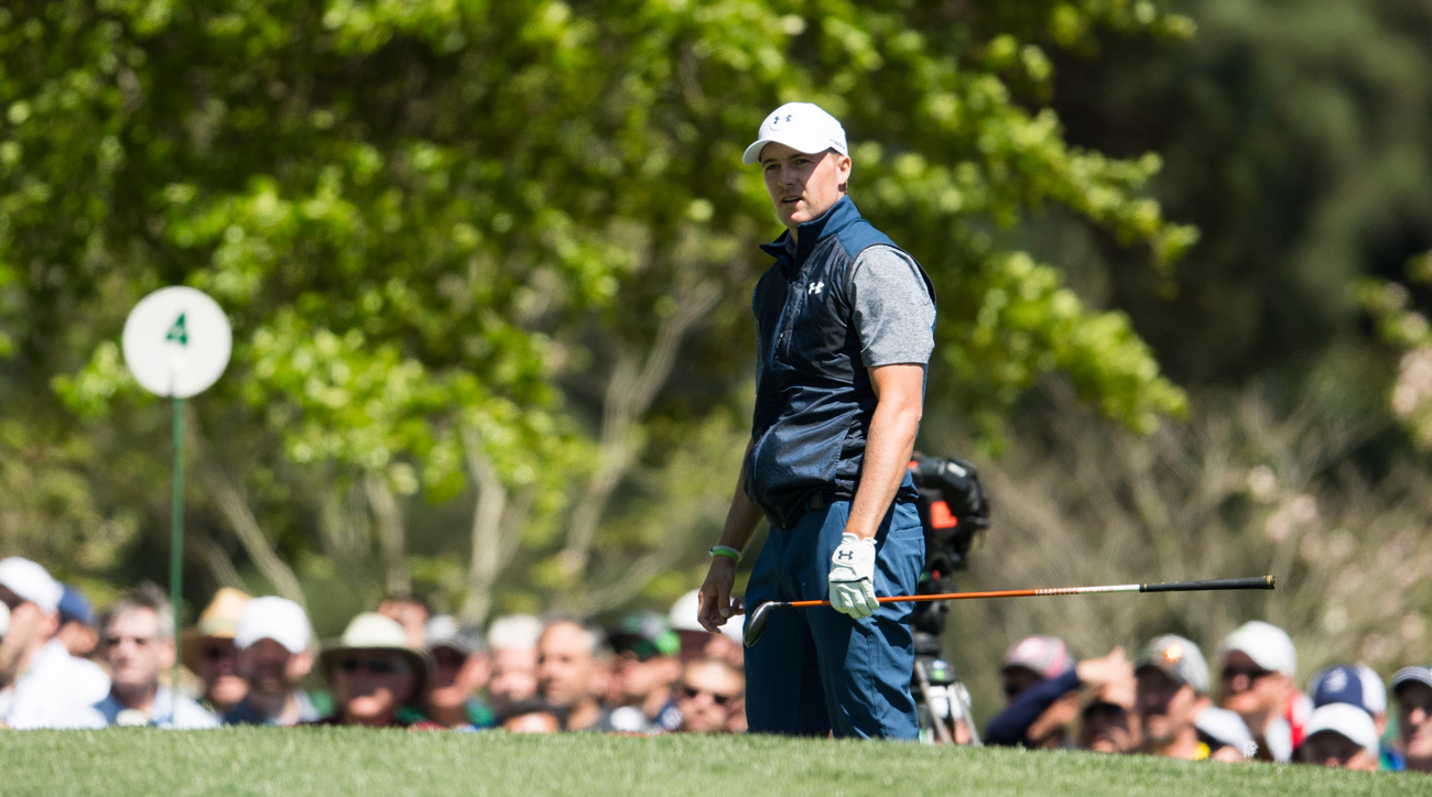 Jordan Spieth winning after making a nine would create one of the most impressive stats in recent Masters memory.