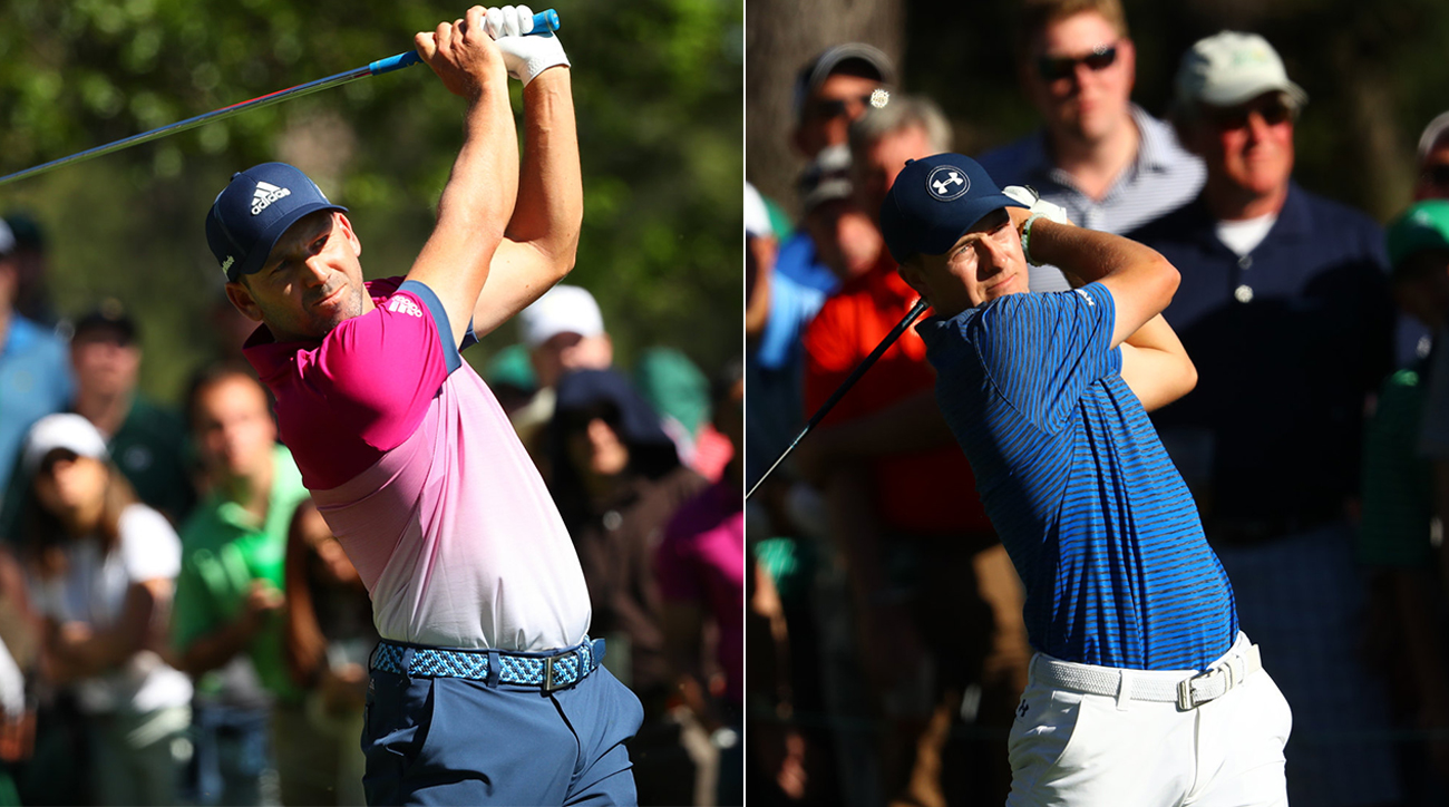 Sergio Garcia and Jordan Spieth have played this Masters (and their careers) completely different.