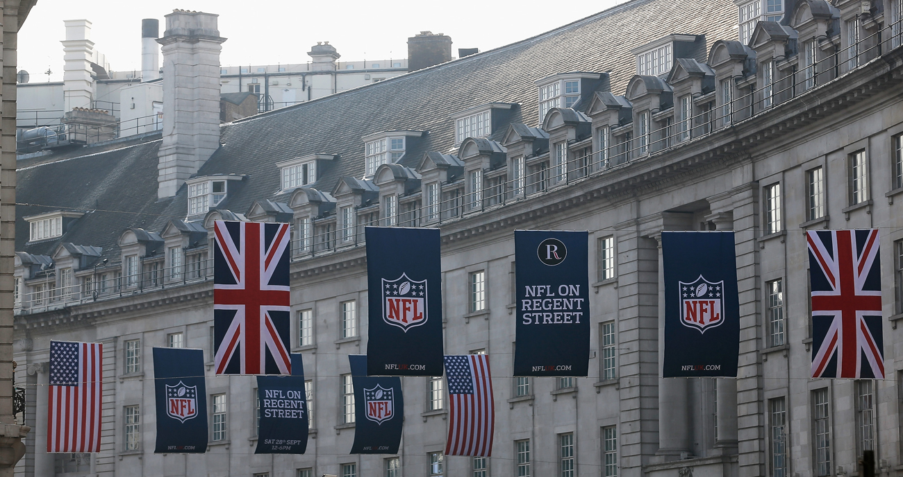 The NFL has made a serious effort to bring its game to London over the past several years.
