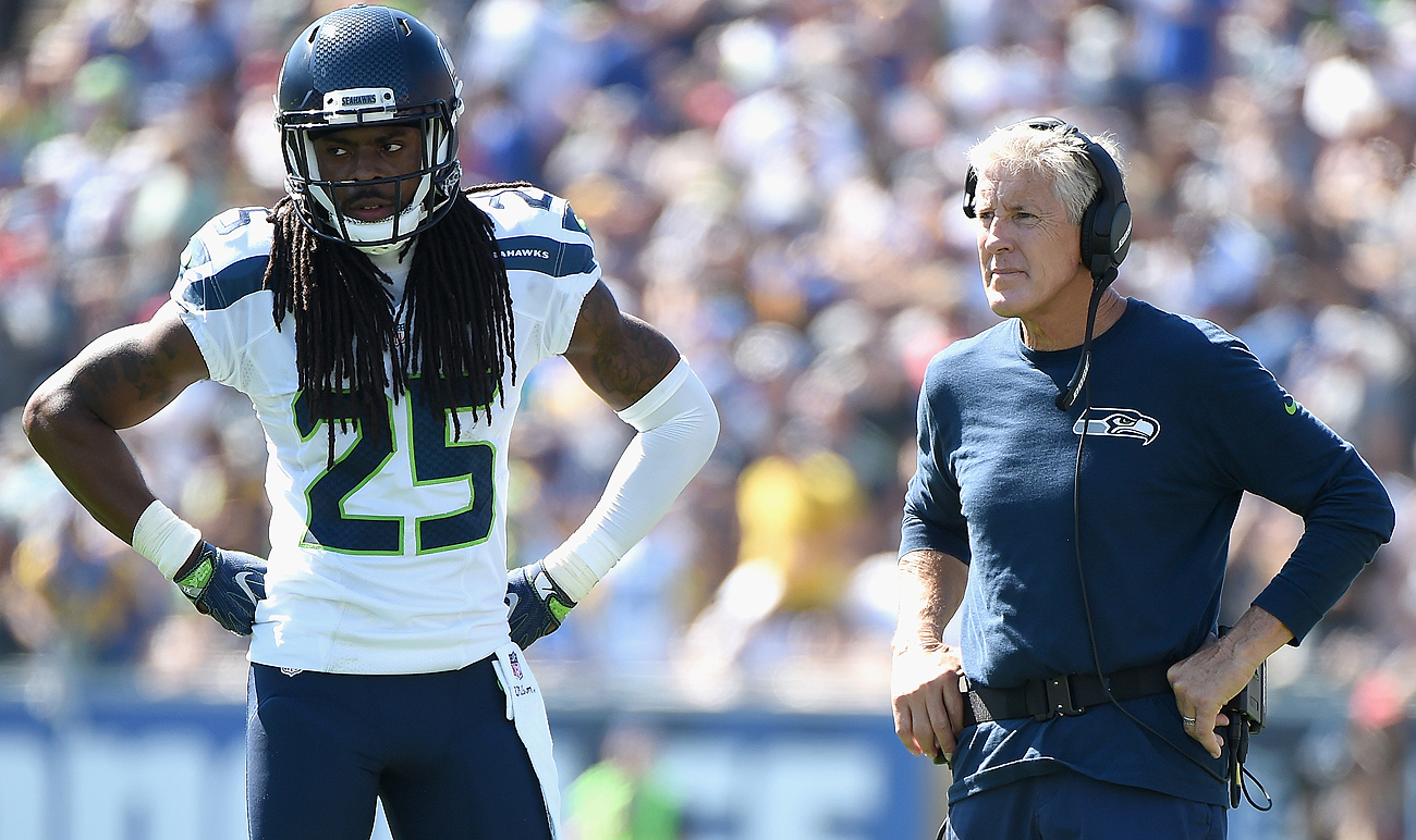 Pete Carroll and the Seahawks are exploring opportunities to trade Richard Sherman, who has said there are no hard feelings toward the franchise.