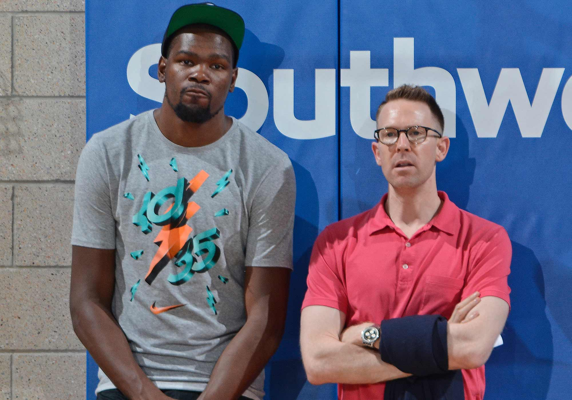 Kevin Durant and Sam Presti
