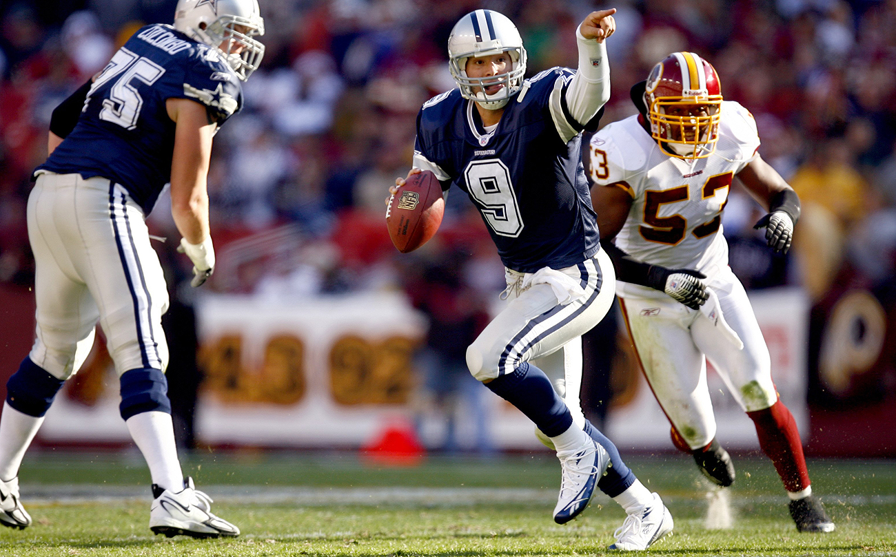 Early in his career, Romo won over the Cowboys with his confidence and decision-making on the fly.