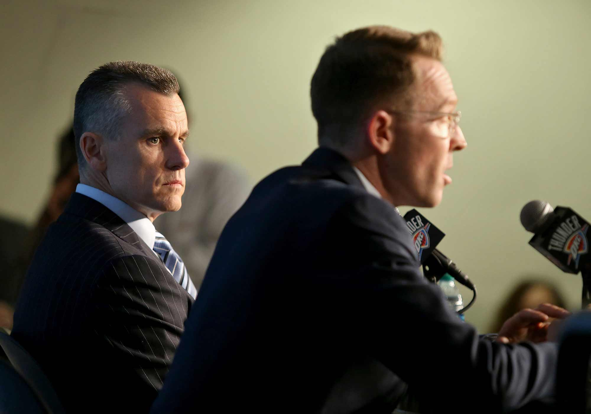 Billy Donovan and Sam Presti