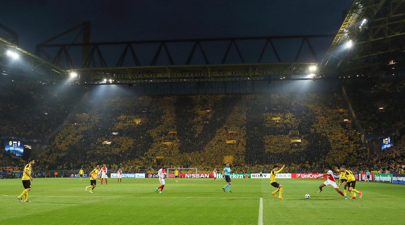 Kylian Mbappe stars for Monaco vs. Dortmund in the Champions League
