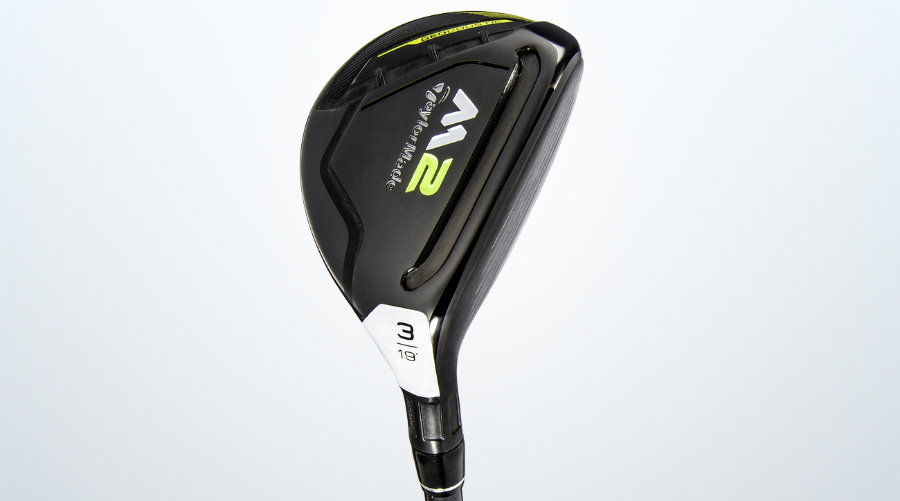 TaylorMade M2 Rescue hybrid.