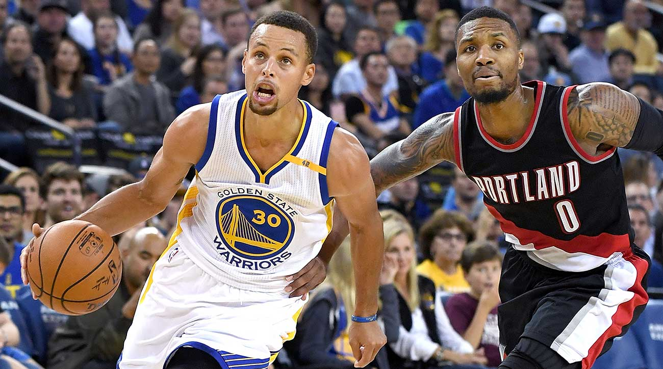 Steph Curry and Damian Lillard