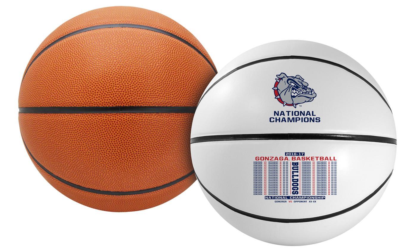 Gonzaga basketball national championship balls for sale
