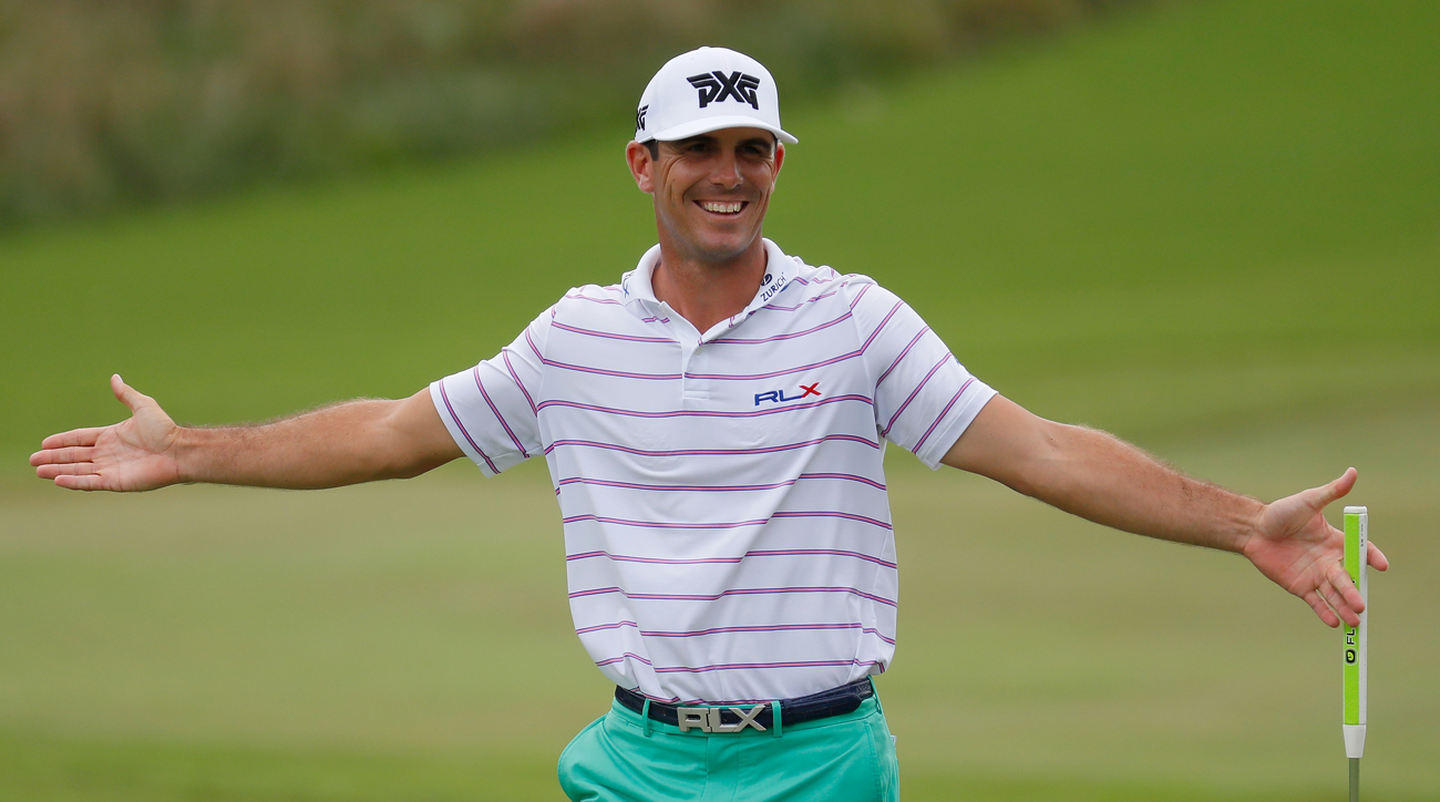 Billy Horschel shot a first round 70 just one day after his second daughter was born.